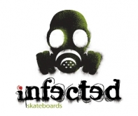 Infected Skateboards Logo