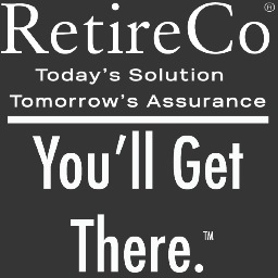 RetireCo c/o the Ascent Advertising Logo