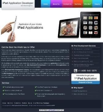 iPad Application Development Company Logo