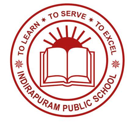 Indirapuram Public School Girls School Logo