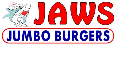Jaws Jumbo Burgers Logo