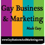 Gay Business & Marketing by Jenn T. Grace Logo