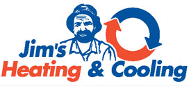 Jim's Heating and Cooling Logo