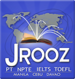 JRooz Review Center Inc. Logo