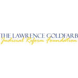 The Lawrence Goldfarb Judicial Reform Foundation Logo