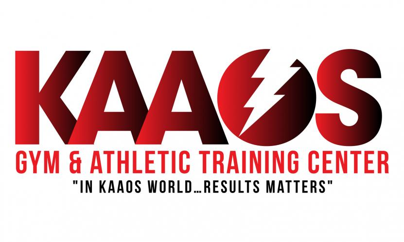 KAAOS Gym and Athletic Training Center Logo