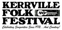 Kerrville Folk Festival Logo