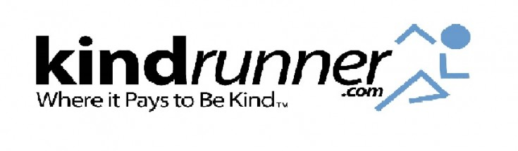 Kindrunner.com Where it Pays To Be Kind TM Logo