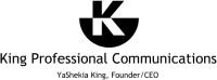 King Professional Communications Logo