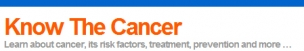 Know The Cancer Logo