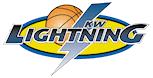 KW Lightning Girls Basketball Association Logo