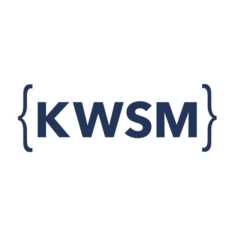 KWSM: a digital marketing agency Logo