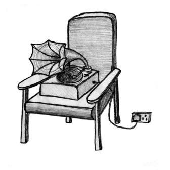 lazygramophone Logo