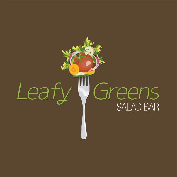 Leafy Greens Salad Bar Logo