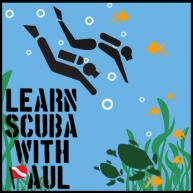 Learn Scuba With Paul Logo