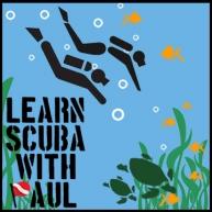 Learn Scuba With Paul Logo