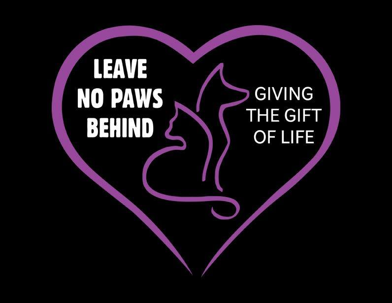 Leave No Paws Behind Logo