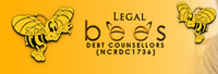 legal-bees-debt Logo