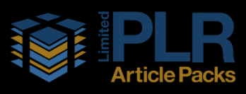 Limited PLR Article Packs Logo