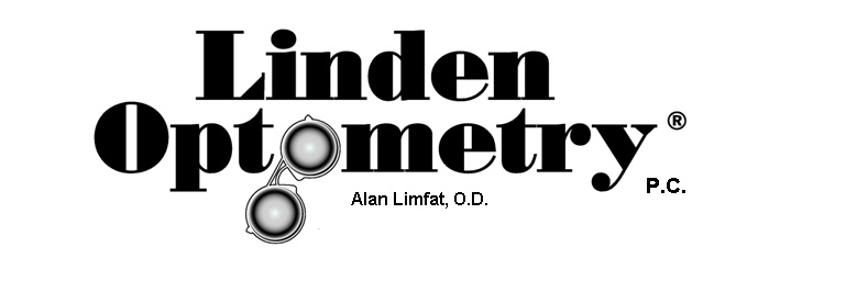 Linden Optometry, a P.C. Logo