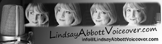Lindsay Abbott | Voice Over Artist Logo