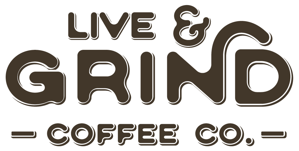 Live & Grind Coffee Co. Logo