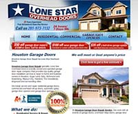 Lone Star Houston Overhead Doors Logo