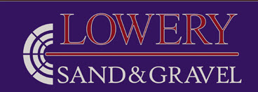 Lowery Sand and Gravel Logo