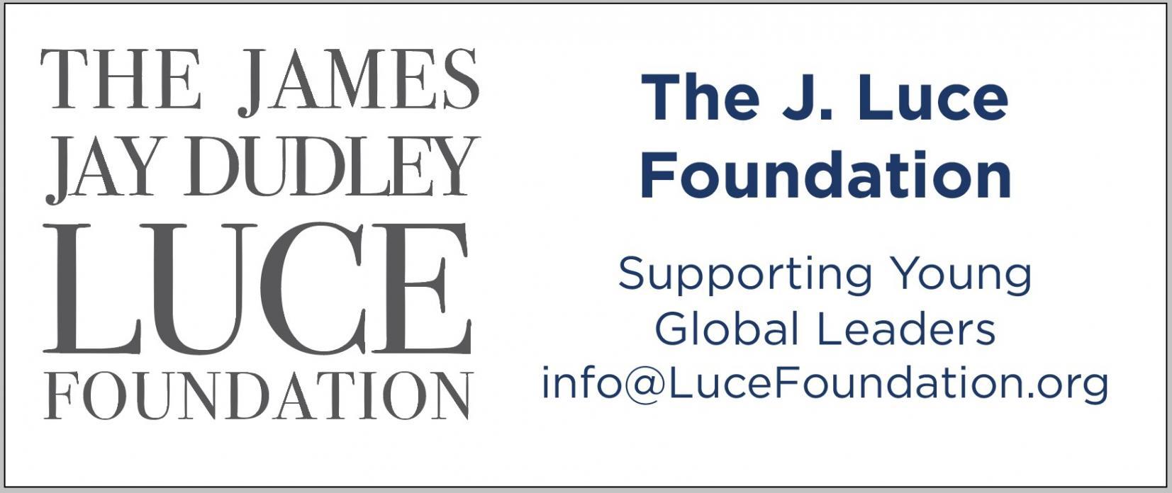 James Jay Dudley Luce Foundation Logo