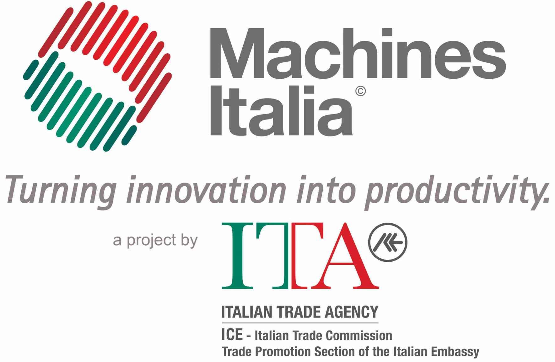 Machines Italia c/o Italian Trade Agency Logo