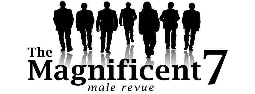 The Magnificent 7 Male Revue Logo