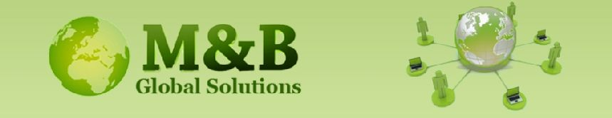 M & B Global Solutions Inc Logo