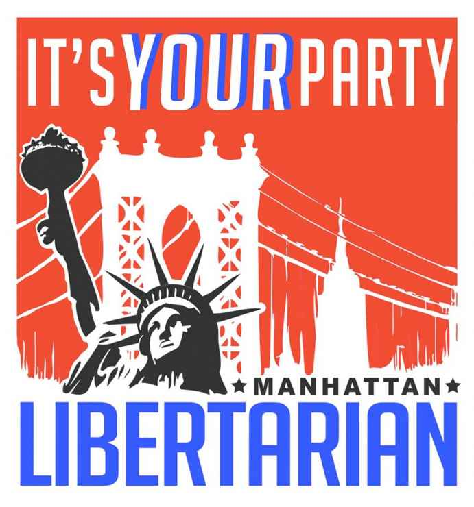 Manhattan Libertarian Party Logo