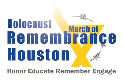 March of Remembrance Houston Logo