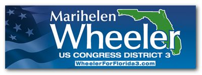 Marihelen Wheeler for Congress Logo