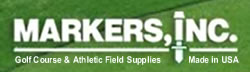 Markers, Inc. - Athletic & Golf Course Supplies Logo