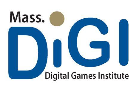Massachusetts Digital Games Institite (MassDiGI) Logo