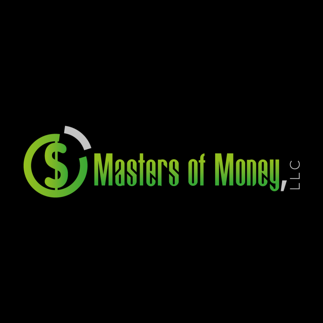 Masters of Money, LLC. Logo