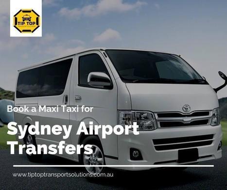 Taxi Maxi Sydney Logo