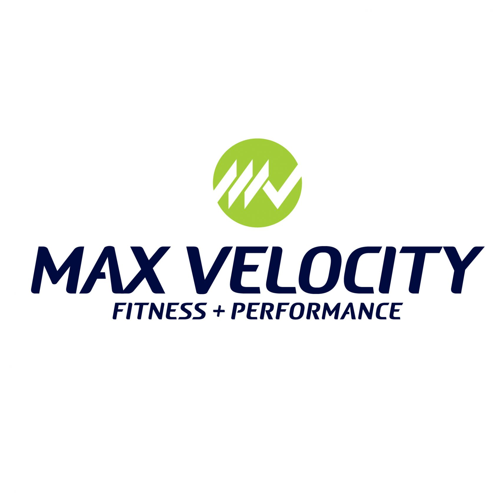 Max Velocity Fitness + Performance Logo