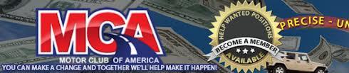 Motor Club of America Business Logo