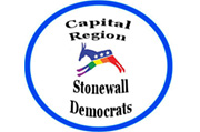 Capital Region Stonewall Democrats Logo