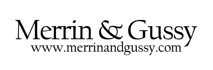 Merrin and Gussy Logo