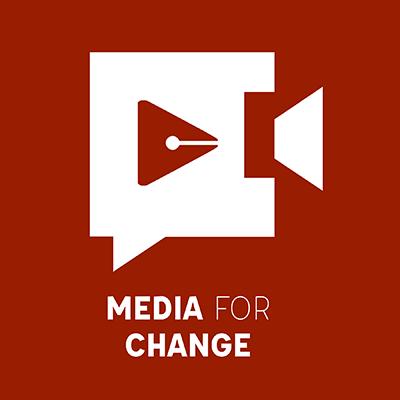 Media for Change INC. Logo