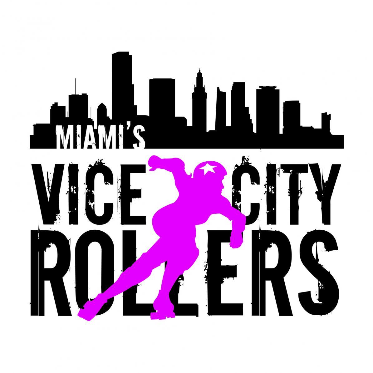Miami Roller Derby Logo