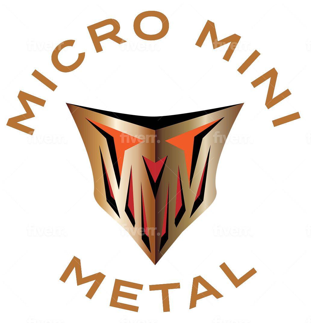 Micro Mini Metal Logo