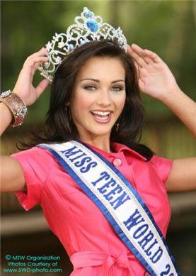 Miss Teen Pennsylvania-World Pageant Logo