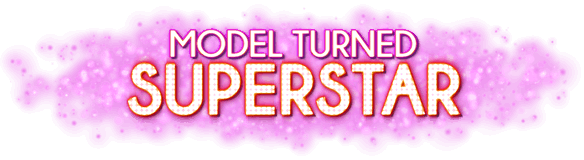 Model Turned Superstar Logo