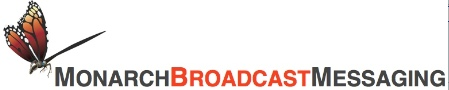 Monarch Broadcast Messaging Logo