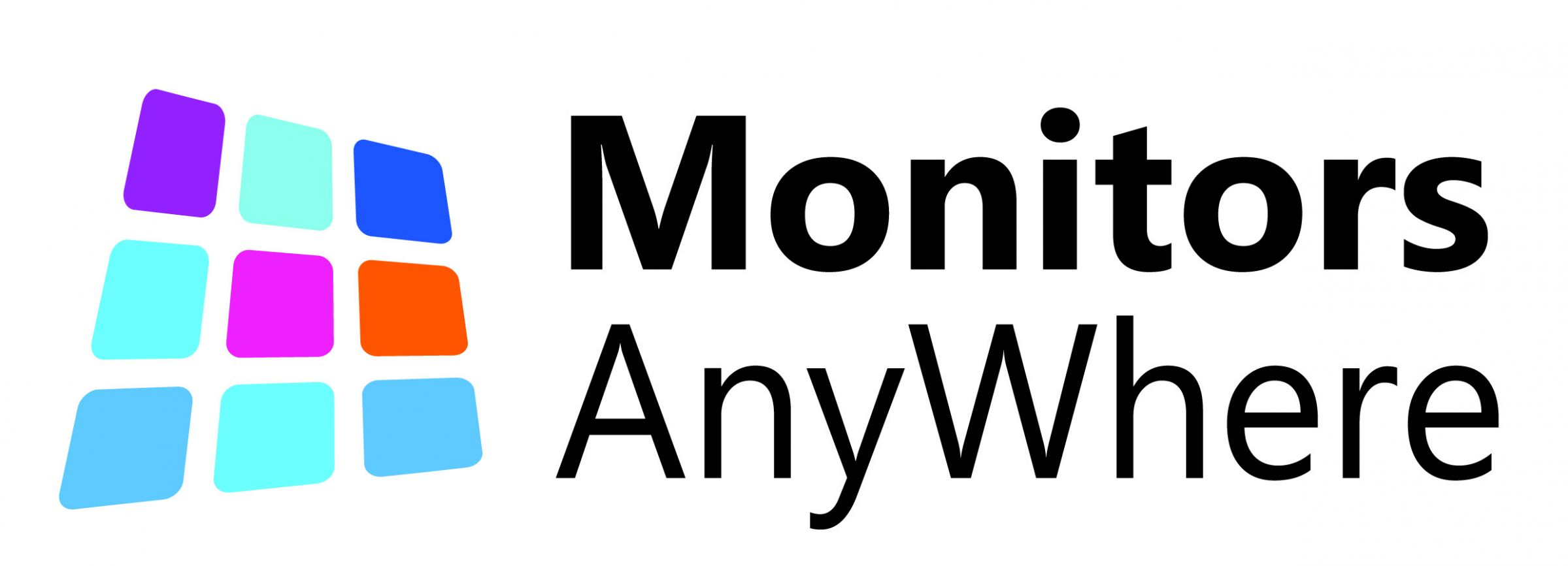 monitors-anywhere Logo